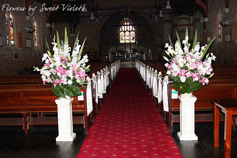 flowers for Church Arrangements & Church Flower Arrangements for Weddings - Sydney - TURRUMURRA